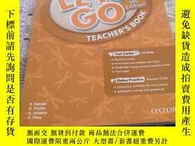 二手書博民逛書店Let s罕見Go: 5: Teacher s Book With Test Center Pack Ritzuk