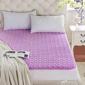 保潔墊 床墊保護墊 薄款防滑床護墊透氣夾棉可水洗折疊保潔墊YXS辛瑞拉