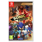 NS 任天堂 Nintendo Switch SONIC FORCES 音速小子 武力 中文版
