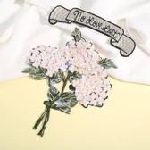 刺繡貼 刺繡花朵大碼補丁貼花服裝輔料T恤diy裝飾貼布修補破洞貼時尚布貼【全館免運】