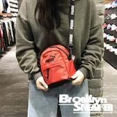 Puma 紅 黑Logo 背帶 後背包 側背包 兩用小背包 小包 (布魯克林) 2019/1月 07615402