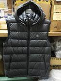 荒野Wildland 700FP 可拆帽 輕量羽絨背心 羽絨服 (0A62172-93 深灰色) 男~特惠5折