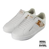 Royal Genesis 白色 皮質 套入 運動休閒鞋 男款 NO.B1027【新竹皇家 01994--020】