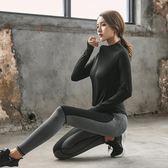 瑜伽服套裝 健身服女秋冬 戶外跑步運動速幹瑜珈-小精靈