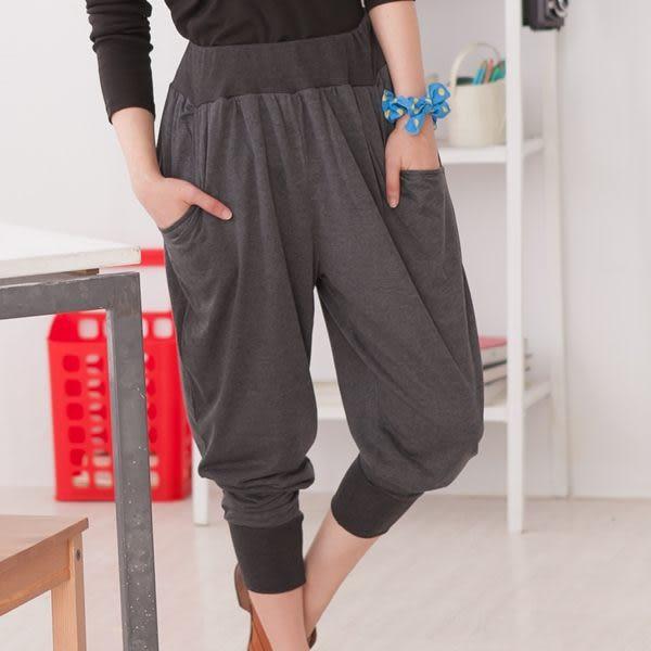 onlyyou 中大尺碼【A3531】簡單休閒~韓風前後特殊口袋休飛鼠褲 2色(XL~5L)