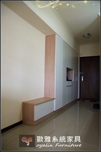 【系統家具】 入口玄關穿衣鞋櫃