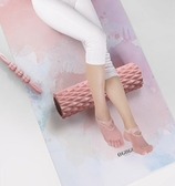 泡沫軸肌肉放松腿部按摩滾軸瘦小腿神器狼牙棒瑜伽柱瑯琊滾輪器材 小時光生活館