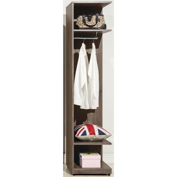 衣櫃 衣櫥 QW-085-8 亞力士1.5尺轉角開放衣櫃【大眾家居舘】