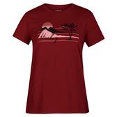Hurley  W HRLY MELLOWIN PERFECT CREW BLACK  T恤-(女)