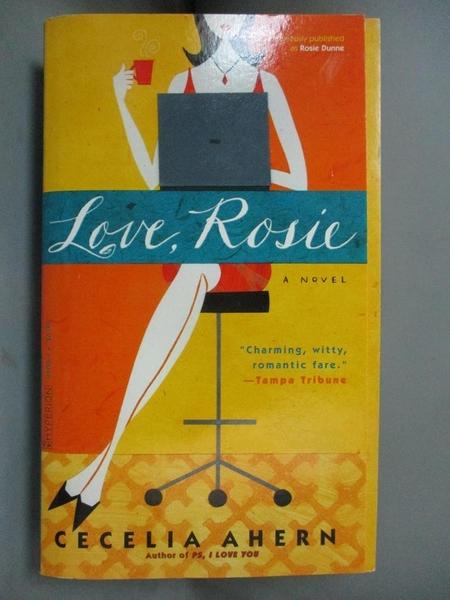 【書寶二手書T3/原文小說_BLZ】Love, Rosie_Ahern