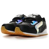 FILA  EVA 慢跑鞋 小童鞋 魔鬼氈 防臭鞋墊(黑)  7-J451T-091 【 胖媛的店 】
