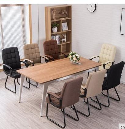 電腦椅懶人辦公椅職員椅會議椅學生宿舍座椅現代簡約靠背椅子 JD   美物 99免運