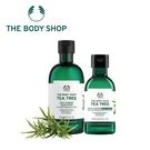 THE BODY SHOP 茶樹淨膚深層潔面膠-400ML+茶樹淨膚沐浴膠-250ML 百貨專櫃正貨