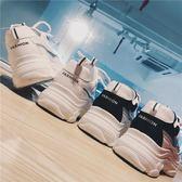 運動鞋女韓版百搭學生白色跑步鞋輕便女鞋