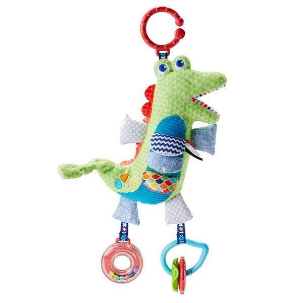 【愛吾兒】 費雪牌 Fisher-Price 聲動小鱷魚掛玩