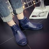 雨鞋 雨鞋男低筒韓版短筒水鞋戶外雨靴學生防水防滑水靴時尚套鞋膠鞋夏