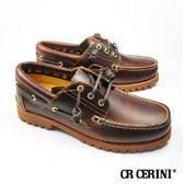 【CR Cerini】雷根底帆船鞋 焦糖色(67354-TAN)