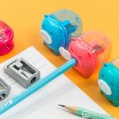 卷筆刀迷你削筆器兒童小學生用鉛筆削筆刀便攜式可愛金屬小號隨身