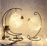 夜光leb星星玻璃瓶幸運星星空瓶吊掛瓶木塞瓶