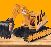 挖掘機玩具 挖掘機 挖挖機挖土機玩具鉤機慣性工程車兒童玩具車模型【快速出貨八折下殺】