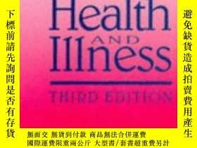 二手書博民逛書店Culture罕見Health & Illness 3rd EdY307751 Cecil Helman Cr