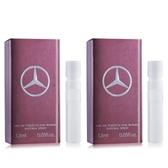 Mercedes Benz 賓士 Woman 爵色佳人香水(1.5ml)X2