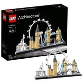 積木建筑系列21034倫敦積木玩具收藏xw