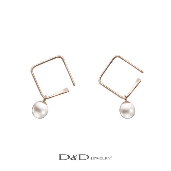 輕奢珠寶系列~10K天然珍珠耳環 ♥