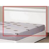 床架 床頭箱.床頭片 MK-672-7 艾麗絲6尺白色床頭片 (不含床底)【大眾家居舘】