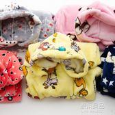 兒童睡袍法蘭絨秋冬季小孩長袖套裝珊瑚絨加厚款男女童家居服睡衣  原本良品