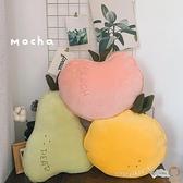 可愛水果睡覺抱枕玩偶毛絨玩具娃娃床上超軟【宅貓醬】