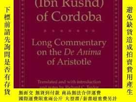 二手書博民逛書店Long罕見Commentary On The De Anima Of Aristotle (yale Libra