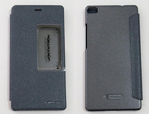 NILLKIN HUAWEI 華為 P8 側翻手機保護皮套 SPARKLE 新皮士系列-星韻