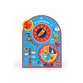 《 MiDeer 》木質時鐘掛板-兒童時間 / JOYBUS玩具百貨