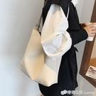 水桶包 簡約女士大包包女新款潮時尚大容量子母單肩包網紅百搭水桶包 檸檬衣舍