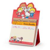 Sanrio SANRIO明星日本製多樣式自黏便箋(復古70年代)★funbox★_386073