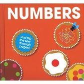 【Patrick George透明膠片書 】NUMBERS..《主題: 基礎學習/數數》