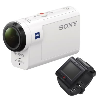 SONY HDR-AS300R 運動攝影機 4K錄影 防水 光學防手震 極限運動【贈 32G+副廠電池*2+充電座】