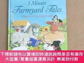 二手書博民逛書店5罕見Minute Farmyard Tales(A Treasury of Sleepytime Stories
