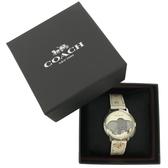COACH X DISNEY限量聯名小飛象手錶禮盒(花卉/米白)