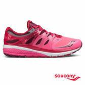 SAUCONY ZEALOT ISO 2 緩衝避震專業訓練鞋款-粉紅x莓果紅