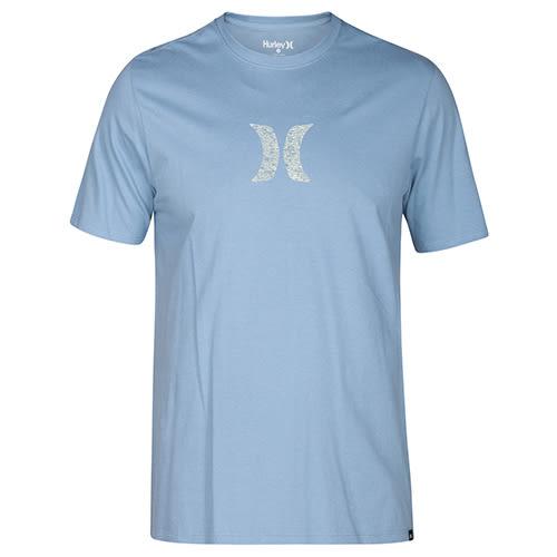 Hurley ICON PUSH THROUGH T恤-水藍(男)