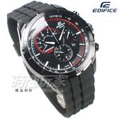 EDIFICE EFR-561PB-1A 公司貨 視距儀 三眼設計 賽車錶 男錶 黑色 EFR-561PB-1AVUDF CASIO卡西歐