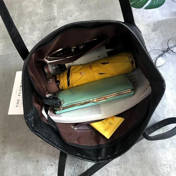 托特包  大包包女新款潮托特包學生簡約百搭大容量 【免運86折】