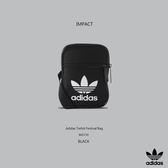 IMPACT Adidas Trefoil Festival Bag 三葉草 小側背包 黑 超實用 男女 百搭 BK6730