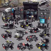 兼容樂高積木軍事城市警察消防3歲6男孩子拼裝益智玩具8-10歲12  良品鋪子