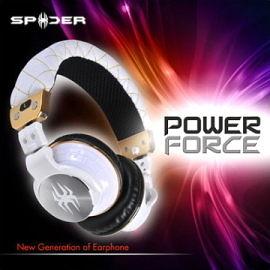 破盤3c資訊月Spider PowerForce 耳罩式耳機 白色 為發燒友設計 重低音震撼2012台北金馬影展指定