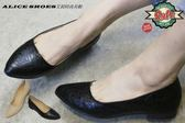 ALICE SHOES艾莉時尚美鞋 @800免運費@時請把握!!搶鮮擁有尖頭低跟@7066@MIT台灣製造