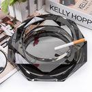 水晶煙灰缸玻璃時尚創意個性禮品精品歐式客廳實用  宜室家居