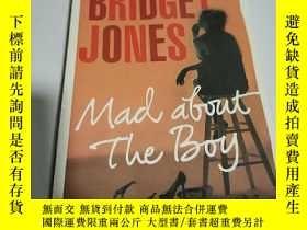 二手書博民逛書店BRIDGET罕見JONES:Mad about the boy